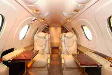 Private Light Jet Premier I Interior