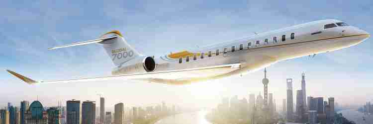 Bombardier's Global 7000 Expected to Enter Service in 2017