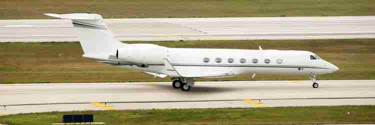 Luxury Private Jets Owned by Celebs