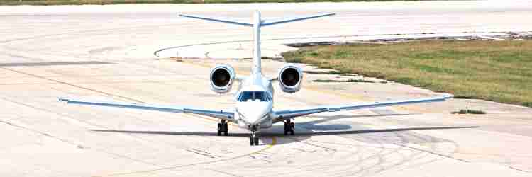 Jet Charter from West Palm Beach, Florida to Morristown, New Jersey