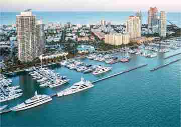 Jet Charter from Moscow, Russia to Miami, Florida